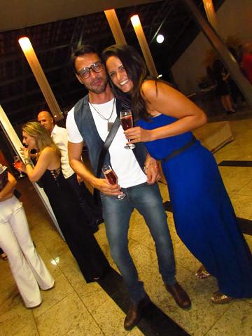 Flávio Osamu e Letícia Coelho