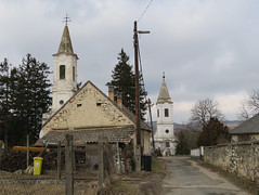 Churches in empty villages