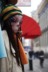 Alien smoking Pot