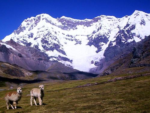 Cerro Ausangate, en el Perú