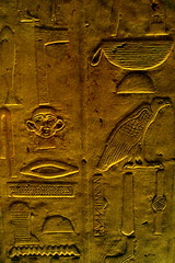 Egyptian tomb walls by rhombitruncated
