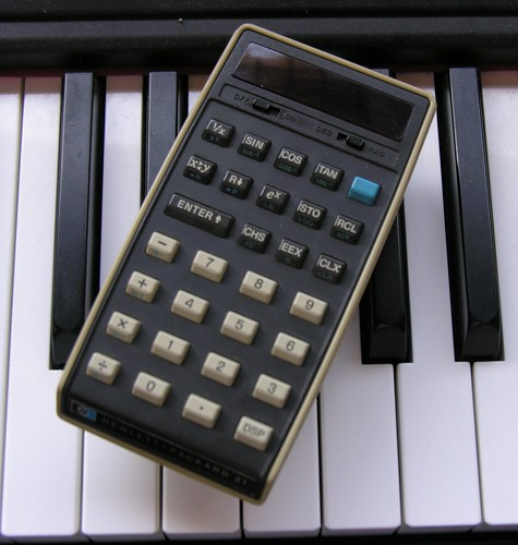 HP 21 Calculator