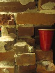 Bryght Wall and my pint o vino