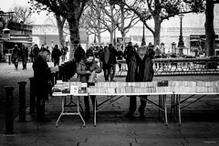 London Dec 2016 - Southbank Book Market