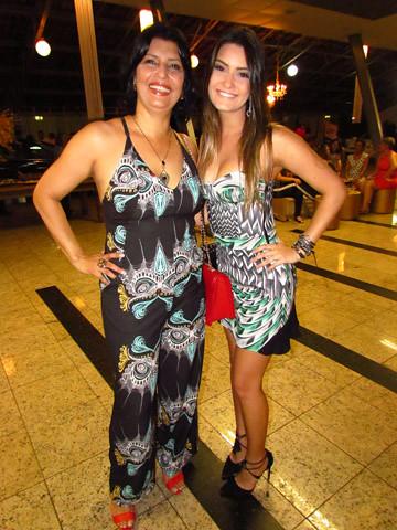 Roseli e Luiza Aquino