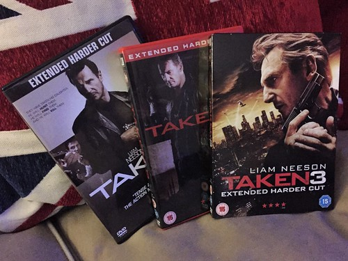 Today is all about...a Taken marathon