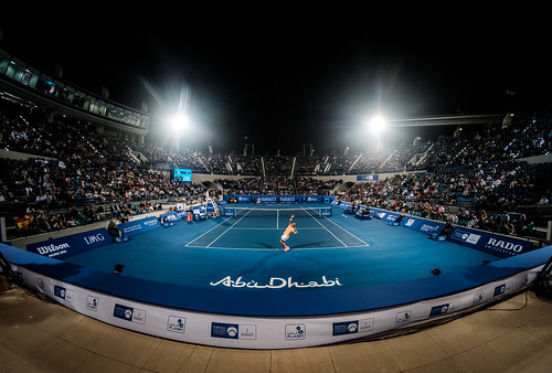 """Rafael Nadal in the Zayed Sports City Tennis Stadium • <a style=""""font-size:0.8em;"""" href=""""http://www.flickr.com/photos/125636673@N08/31149863564/"""" target=""""_blank"""">View on Flickr</a>"""