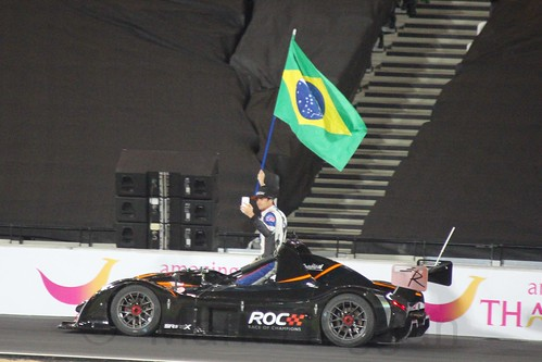 Team Brazil at The Race of Champions, Olympic Stadium, London, November 2015