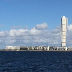 "Turning Torso in Malmö. #malmö #turningtorso #iphone5s #awesomepicture #ribersborg #strand #water #öresund #sweden <a style=""margin-left:10px; font-size:0.8em;"" href=""http://www.flickr.com/photos/131645797@N05/21106719783/"" target=""_blank"">@flickr</a>"