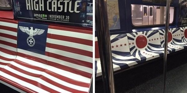 Amazon usa símbolo nazista para promover nova série no metrô de NY
