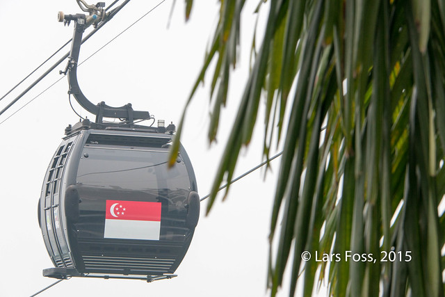 Cable Car at Faber Mountain