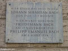 Johann Sebastian Bach und Familie in Weimar / ...