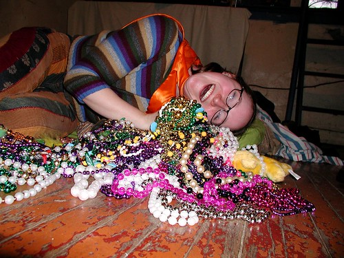 Maria and her Beads