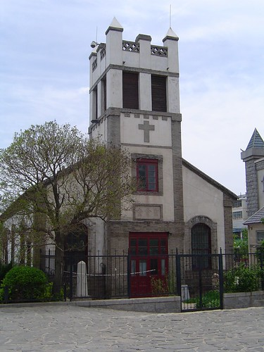 The church Lottie Moon attended in Penglai, China.