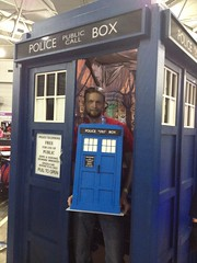 My LEGO Tardis at Oz comic-con