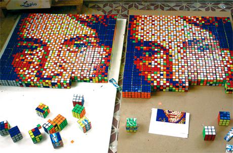 Rubik pixels