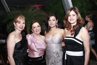 Sônia Regina, Rosiane Calais, Cláudia e Rejane