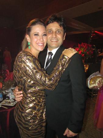 Flávia e Hélcio Martins da Costa