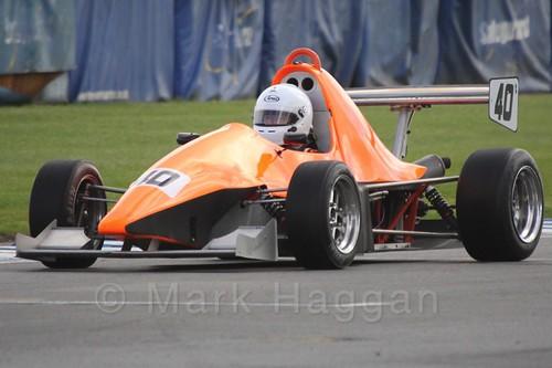 Jason Dixon in Formula Jedi at Donington, September 2015