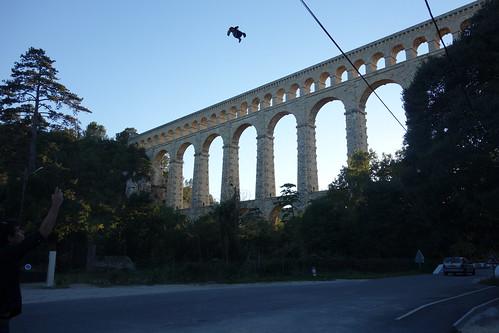 L'eau de la Durance était ainsi charriée jusqu'à Marseille