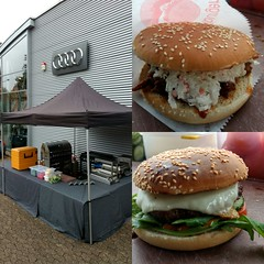 """#HummerCatering #Eventcatering #Burger #BBQ #Grill #Catering #Köln #AudiQ2 #promotion #Fleischhauer • <a style=""""font-size:0.8em;"""" href=""""http://www.flickr.com/photos/69233503@N08/31973314392/"""" target=""""_blank"""">View on Flickr</a>"""