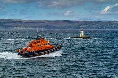 Le canot de Mallaig en route vers Skye