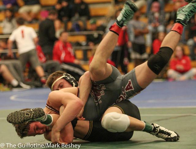 138 - Tyler Eischens (Anoka) over Kyle Rathman (Apple Valley) Dec 2-0