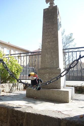 Le monument aux morts du village