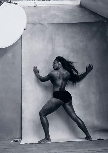 Serena Willians em abril