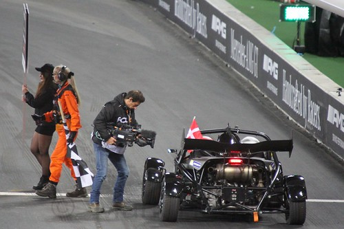 Tom Kristensen in The Race of Champions, Olympic Stadium, London, November 2015
