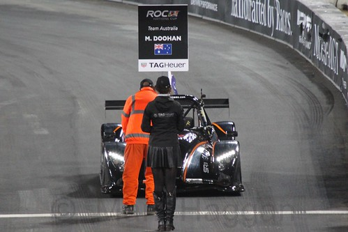 Mick Doohan at The Race of Champions, Olympic Stadium, London, November 2015