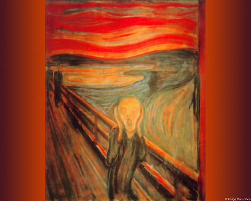 Edvard Munch - Geschrei - The Scream - 1895 - color version