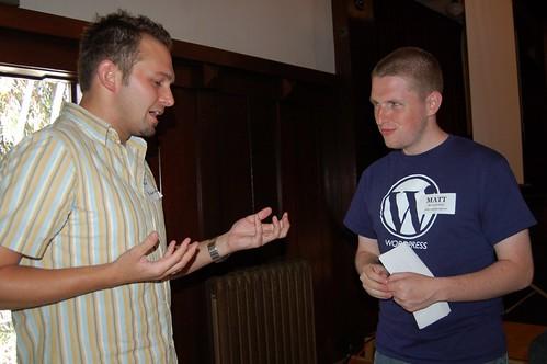 Talking with Matt