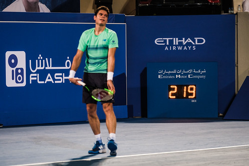 """Milos Raonic's service reaches 219 km/h • <a style=""""font-size:0.8em;"""" href=""""http://www.flickr.com/photos/125636673@N08/31873167561/"""" target=""""_blank"""">View on Flickr</a>"""