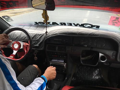 L'intérieur des taxis réserve parfois des surprises ... Renversantes !
