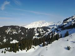 Mont Blanc depuis Praz sur Arly
