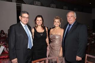 Marcus Pestana e Maria Lígia, Marize e Francisco Amério