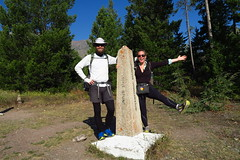 CDT northern terminus at Waterton Lake