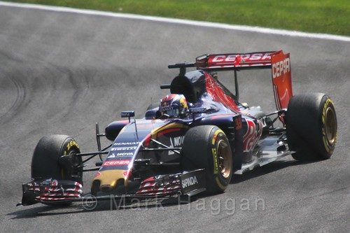 Max Verstappen in the 2015 Belgium Grand Prix