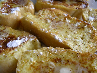 Cook Naked: Oh Canada! French Toast!
