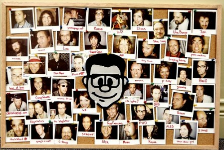 Gnomedex Wall of Love