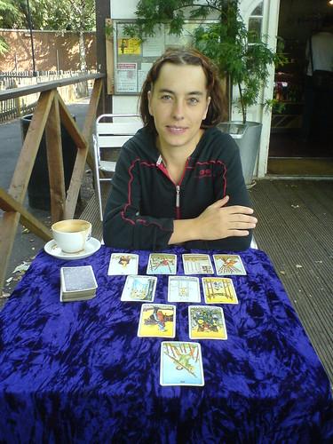 KP - Tarot readings at the cafe by szczel