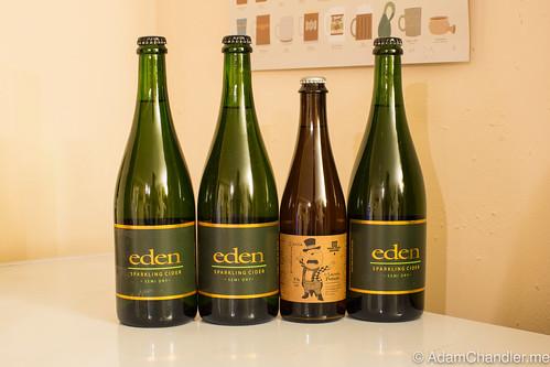 Eden Ice Cider Haul, 12-10-2015