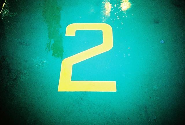 lane number