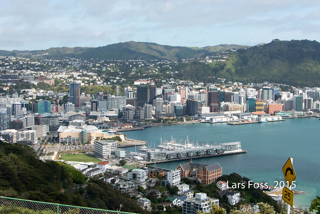 Wellington downtown