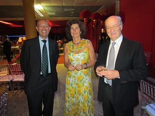 Mario Galli, Geovanna Benazzo e Paolo Rocca