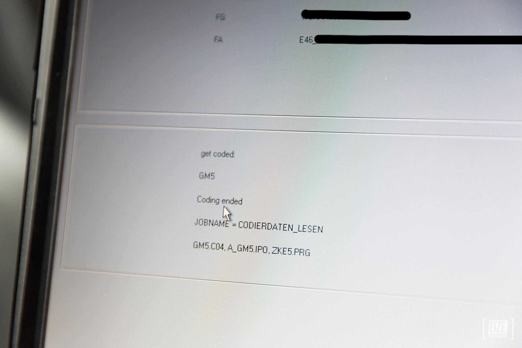 NCS Expert coding detailed how-to guide – E46 | Daze's E46 330D