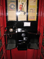 An Old Phone Box
