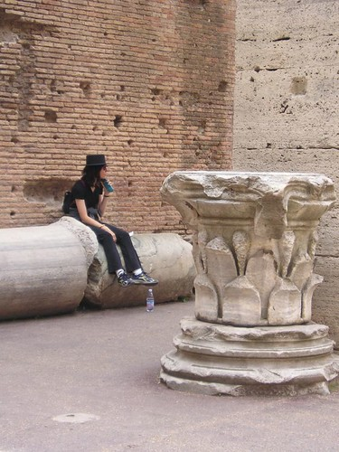 Inside the Colosseo
