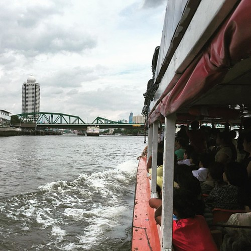 Riding the Chao Phraya #River  @ #Bangkok #Thailand #thailoup #traveloup